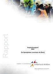 Definitief rapport BSO de Speelplaats (de Bent) Velp - Kinderij