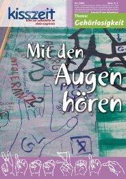 Gehörlosigkeit - Selbsthilfe-Kontaktstelle Rhein-Sieg-Kreis