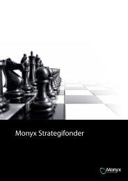 Monyx Strategifonder – dynamiskt sparande - Monyx Financial Group