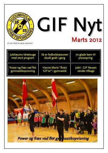 Gymnastikkens GIF'er 2012 - Gudumholm IF