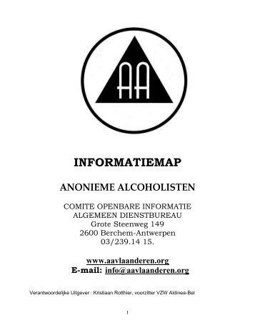 INFORMATIEMAP - AA Vlaanderen