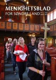MENIGHETSBLAD - Kirken i Søndre Land