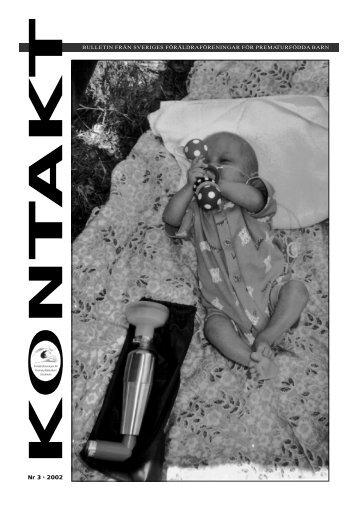 Nr 3 • 2002 - Prematur.nu