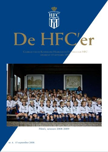 Mini's, seizoen 2008-2009 - Koninklijke HFC