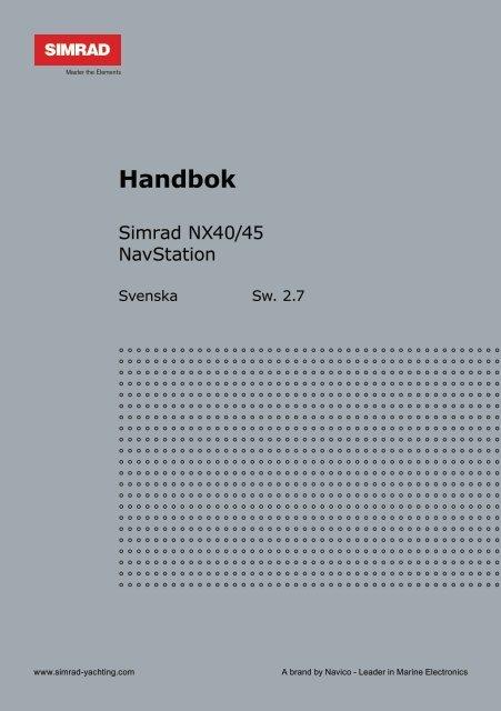 Handbok - Simrad Yachting