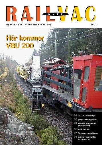 Railcare news 2001 (SWE)