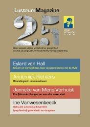 Lustrum Magazine - Henny Verhagen Stichting