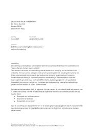 Definitieve samenstelling Commissie Leraren en ... - MBO Raad