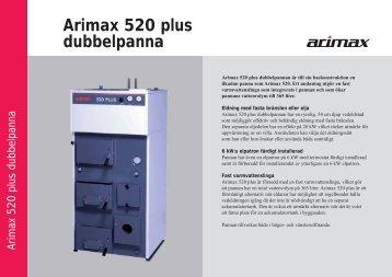 Arimax 520 plus dubbelpanna