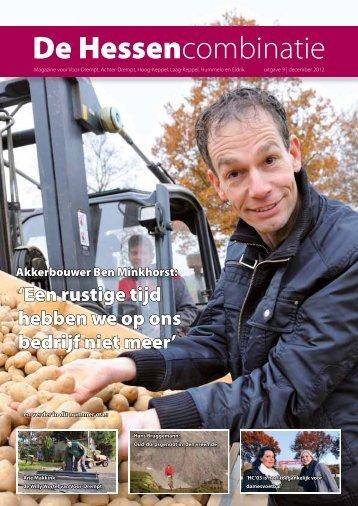 De Hessencombinatie - Uitgave 9   December 2012 - Hc 03