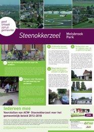 MEMORANDUM steenokkerzeel web.pdf - ACW Verbond Brussel ...