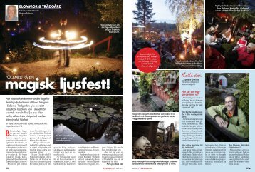 Reportage och bilder - Bäsna Trädgård