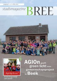 Stadsmagazine april - Stad Bree