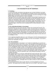 '09/'10 1 3. DE ORGANISATIE VAN HET ONDERWIJS 3.1 Inleiding ...