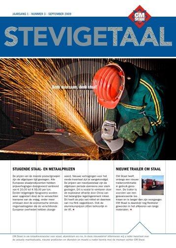 Denk duurzaam, denk staal! - CM Staal