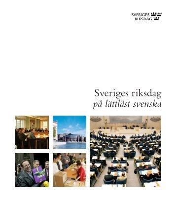 Information om riksdagen - Merit utbildning