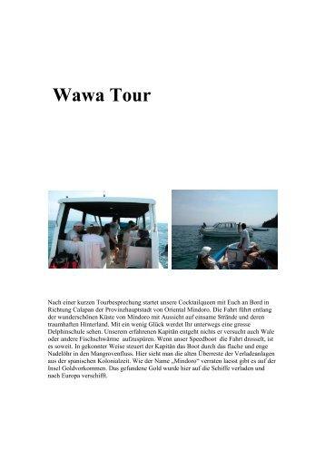 Wawa Tour - Cocktail Divers