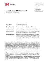 Tilsyn Lionslund 2010.pdf - Den Sociale Virksomhed