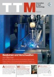 Besäumen und Verschweißen von Blechen - Tube Tech Machinery