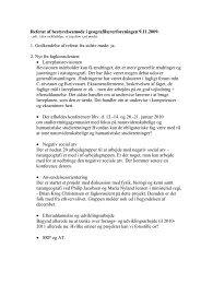 Referat af bestyrelsesmøde i geografilærerforeningen 9