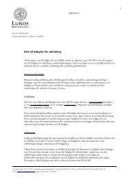 PM Rätt till ledighet för utbildning (pdf 55 kB - nytt fönster)