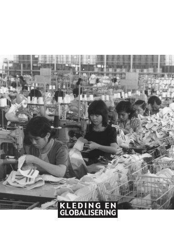 Brochure 'kleding en globalisering - Schone Kleren