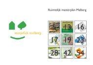 Bijlage 5: Rapportage Ruimtelijk Masterplan - Manjefiek Malberg