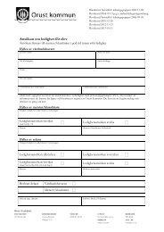 Ansökan om ledighet för elev (pdf 21kB) - Orust kommun