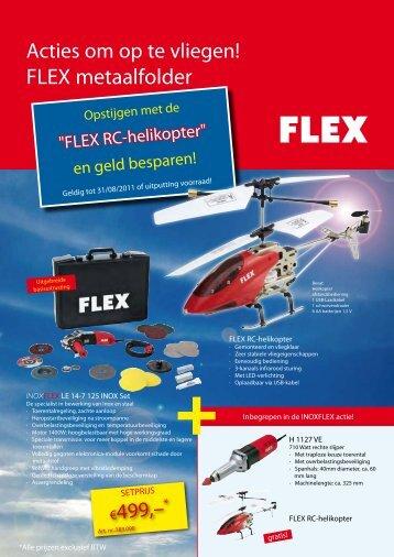 FLEX metaalfolder