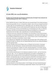 MdB-Brief Standard Funktion.dot - Deutscher Richterbund