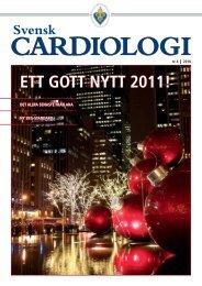 Svensk Cardiologi 4 2010 - Svenska Cardiologföreningen