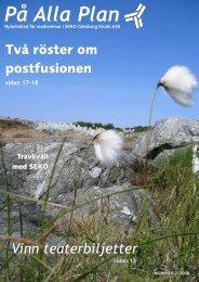 Nr 2 2008 - SEKO Posten Produktion GPT