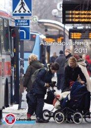 Länstrafikens årsredovisning 2011 - Länstrafiken i Västerbotten