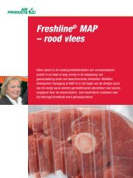 Freshline® MAP – rood vlees - Air Products