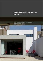 Betonbouwconcepten & EPB intro - Febelcem