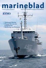 • Toekomst Marine • Draagvlak voor de krijgsmacht ... - Kvmo
