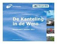 Presentatie Sociaal: De Kanteling - De Drechtsteden