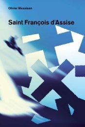 Saint François d'Assise - De Nederlandse Opera
