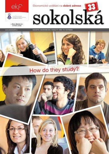 How do they study? - Sokolská 33