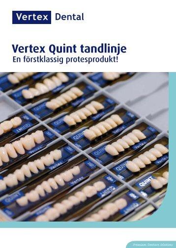 Premium Denture Solutions Vertex Quint tandlinje