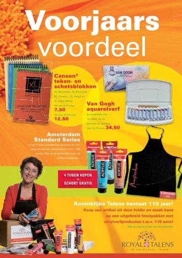 Koninklijke Talens bestaat 110 jaar! Amsterdam Standard ... - Artifac
