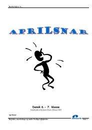 Aprilsnar - Inerisaavik