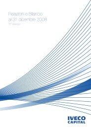relazioni e Bilancio al 31 dicembre 2008