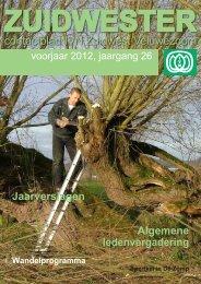 ZUIDWESTER, voorjaar 2012 - IVN afdeling Zuidwest Veluwezoom