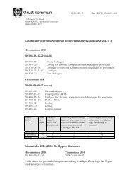 Dokumentet gällande läsårstider för 2013/2014 i sin ... - Orust kommun
