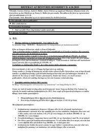 Referat af bestyrelsesmøde 4 10 2010 - Skolefritidshjemmet på ...