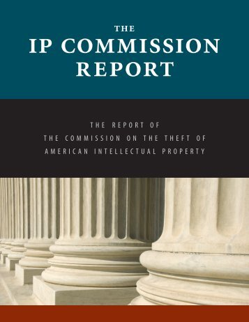 Report - Commission on the Theft of American Intellectual Property