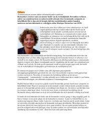 Commissarissen moeten andere informatiekanalen aanboren - NVTK