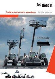 Aanbouwdelen voor verreikers | Productgamma - Bobcat.eu