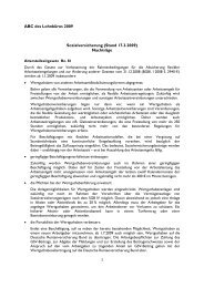 ABC des Lohnbüros 2009 Sozialversicherung (Stand 17.3.2009 ...